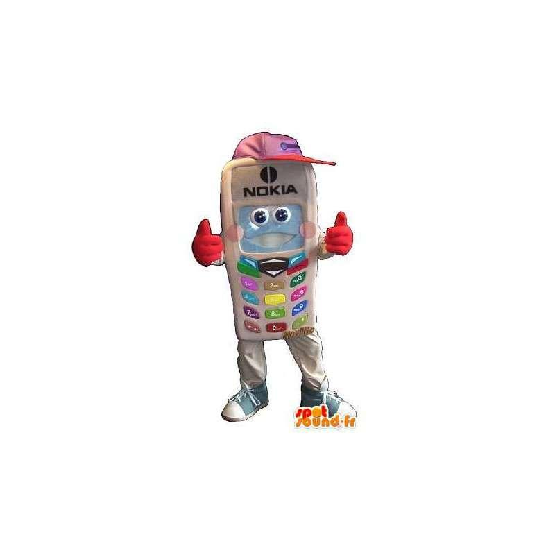 Nokia maskot kostyme telefoni - MASFR001654 - Maskoter telefoner