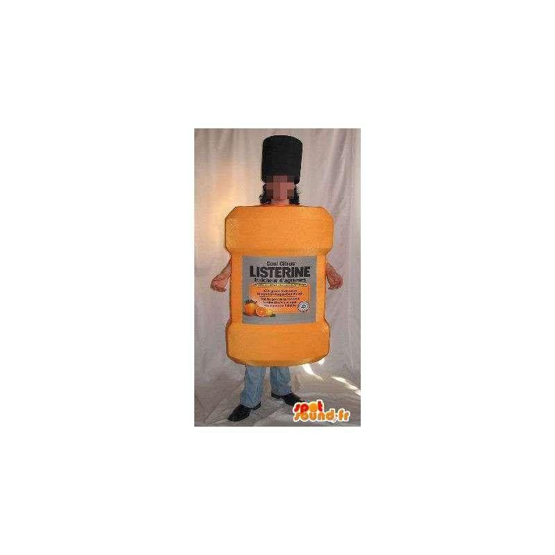 Mascot fles douchegel, cosmetische verhullen - MASFR001655 - mascottes Flessen