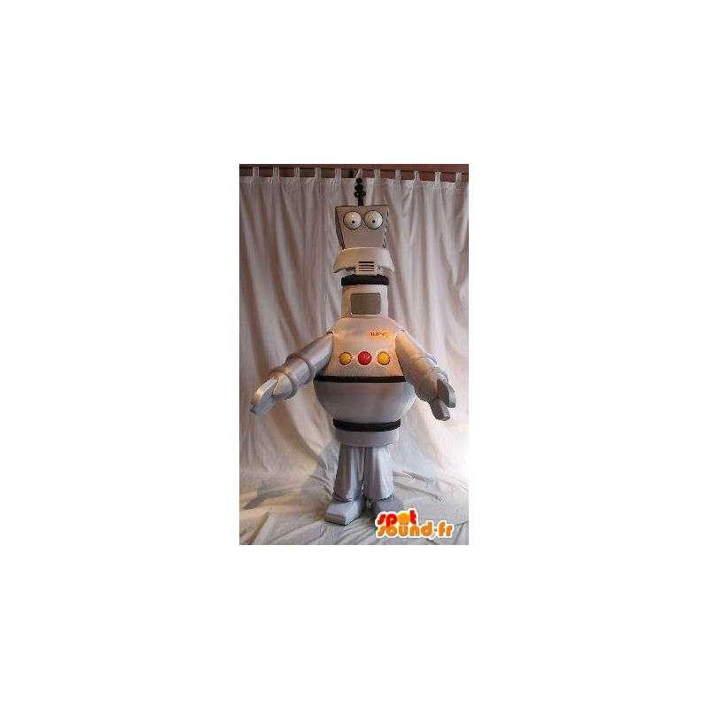 Robot travestimento mascotte robotica aerea - MASFR001657 - Mascotte dei robot