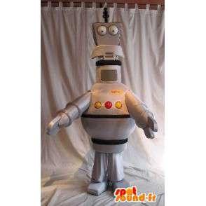 Mascotte de robot antenne, déguisement robotique - MASFR001657 - Mascottes de Robots