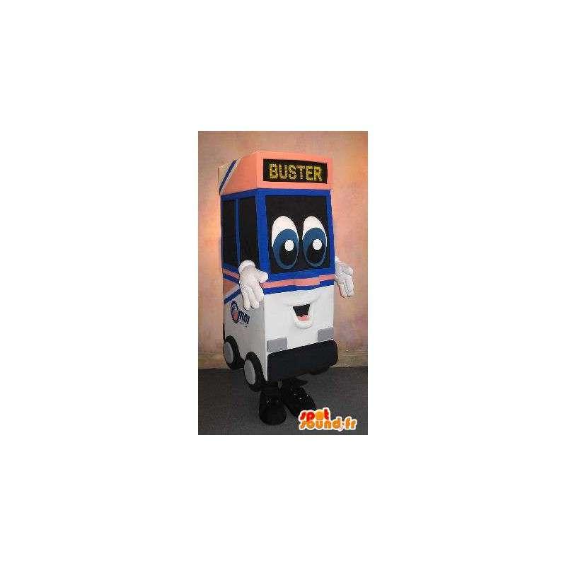 Mascot mobiele ATM, professionele vermomming - MASFR001662 - mascottes objecten