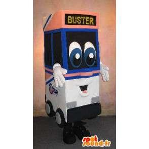 Mascotte de guichet automatique mobile, déguisement professionnel - MASFR001662 - Mascottes d'objets