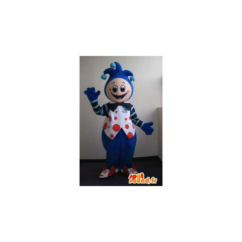 Mascotte de bouffon du roi, déguisement de clown - MASFR001665 - Mascottes Cirque