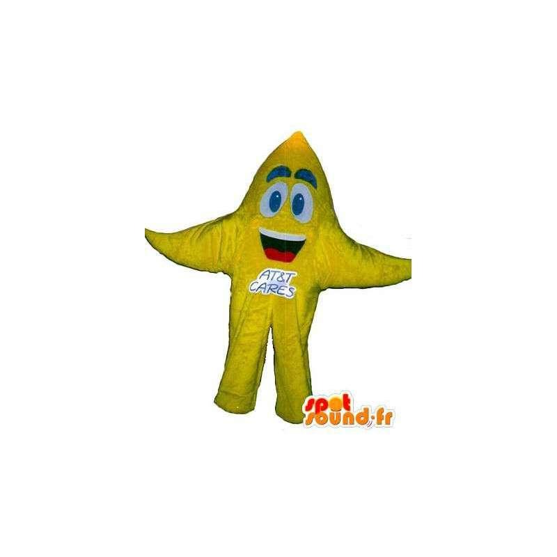 Starfish-Maskottchen- Stern-Kostüm - MASFR001666 - Maskottchen Seestern