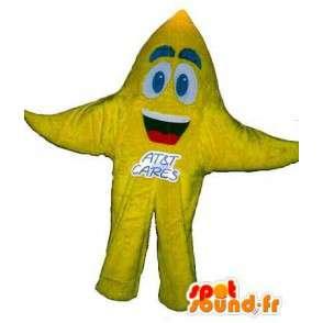 Starfish mascot costume star - MASFR001666 - Mascots starfish
