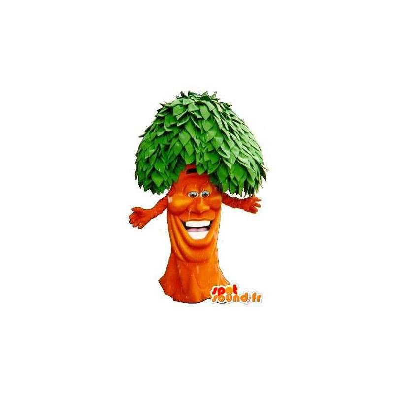 Mascotte d'un arbre rasta, costume de la forêt - MASFR001669 - Mascottes de plantes