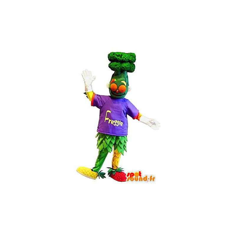 Fruit and vegetable salad mascot costume cocktail - MASFR001676 - Fruit mascot