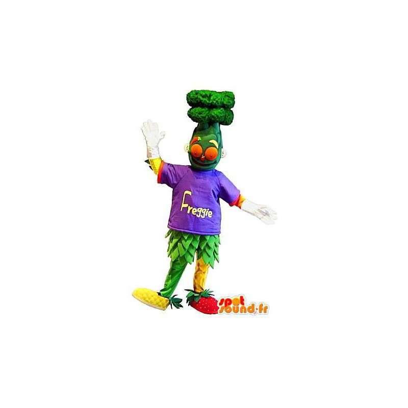Mascotte salade fruits et légumes, déguisement cocktail - MASFR001676 - Mascotte de fruits