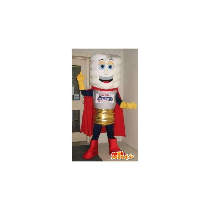 Representing a bulb mascot, light disguise - MASFR001683 - Mascots bulb