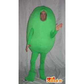 Character mascot potato green vegetable costume - MASFR001684 - Mascot of vegetables