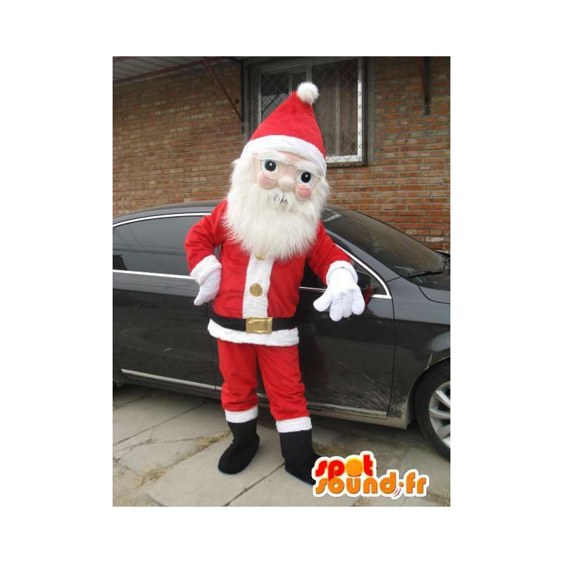 サンタクロースマスコット衣装新年のお祝い - MASFR001690 - クリスマスマスコット