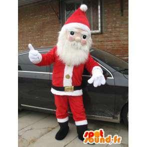 Joulupukki Mascot puku uudenvuoden juhla - MASFR001690 - joulun Maskotteja