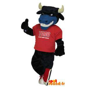 Soccer urso fantasia de urso mascote Touro US - MASFR001702 - Mascot Touro