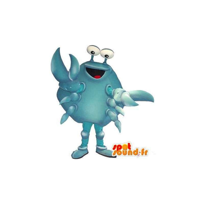 Blauwe krab mascotte, schaaldier vermomming - MASFR001716 - mascottes Crab