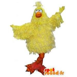 黄色いひよこの衣装、鳥のマスコット-MASFR001717-鶏のマスコット-オンドリ-鶏