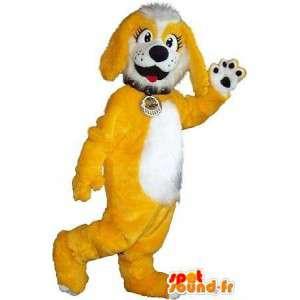 La mascota del perrito traje cub