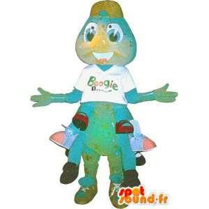 Mascotte de millepattes en peluche, déguisement d'insecte