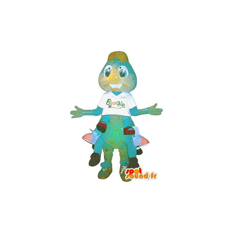 Duizendpoten mascotte pluche insect vermomming - MASFR001725 - mascottes Insect