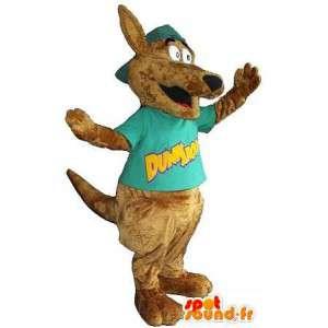 Mascot av en hund, hund drakt