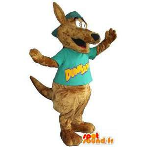 Mascot of a dog, dog costume