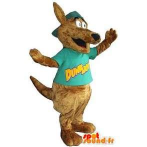 Maskot, der repræsenterer en hund, forklædning af hunde -