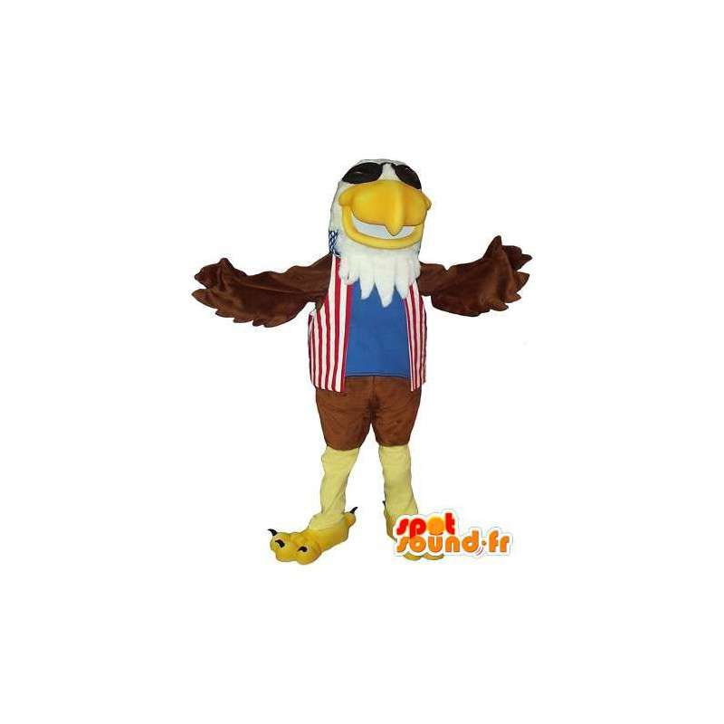 Mascot die einen Königsadler amerikanische Kostüm - MASFR001731 - Maskottchen der Vögel