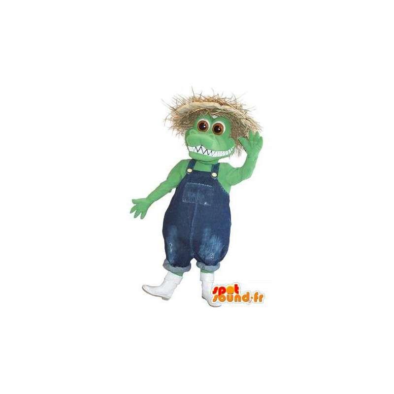 Maskotka reprezentujących przebranie Farma krokodyli chłop - MASFR001734 - krokodyle Mascot