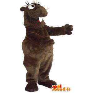 Hámster divertido traje de la mascota roedor