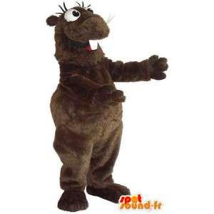 Mascotte de hamster rigolo, déguisement de rongeur