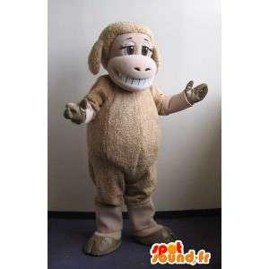 Mascot representerer en sau gård forkledning - MASFR001737 - sau Maskoter
