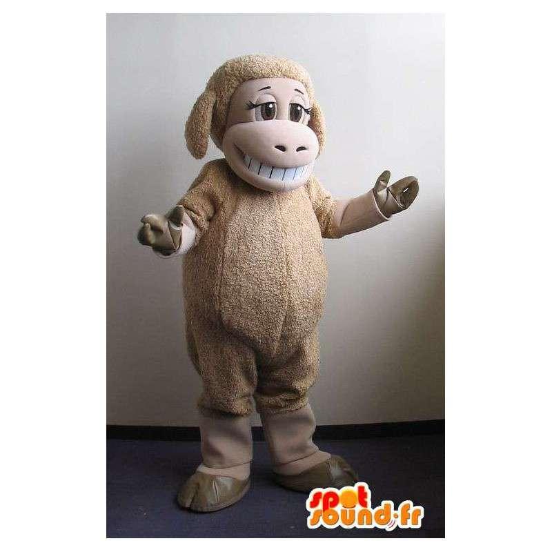 Stellvertretend für eine Schaffarm Maskottchen Kostüm - MASFR001737 - Maskottchen Schafe
