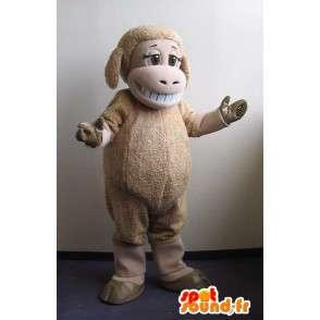 Mascotte représentant un mouton, déguisement de la ferme - MASFR001737 - Mascottes Mouton