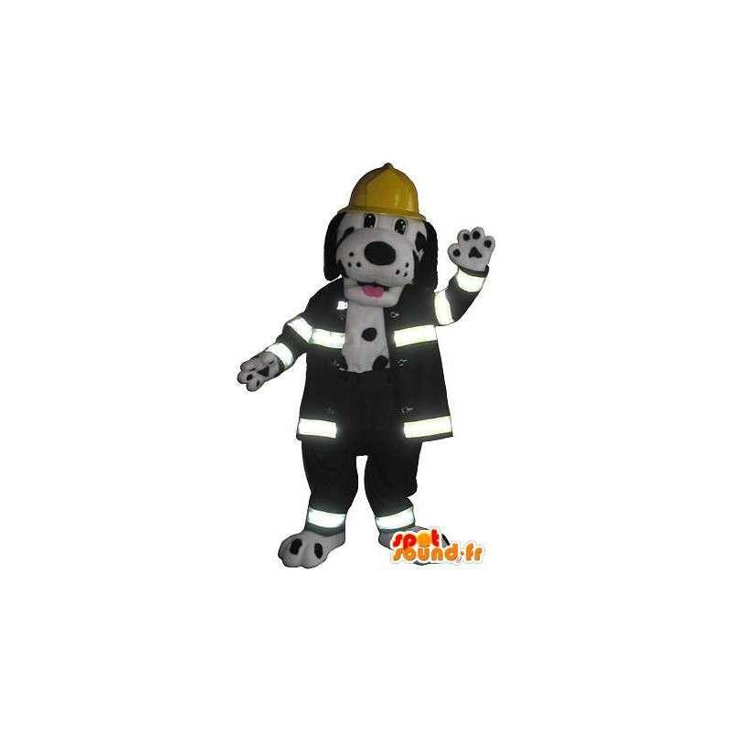 Bombero dálmata mascota traje de bombero EE.UU. - MASFR001744 - Mascotas perro