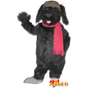Mascot αντιπροσωπεύουν βελούδου σκυλιών, κοστούμι σκύλος