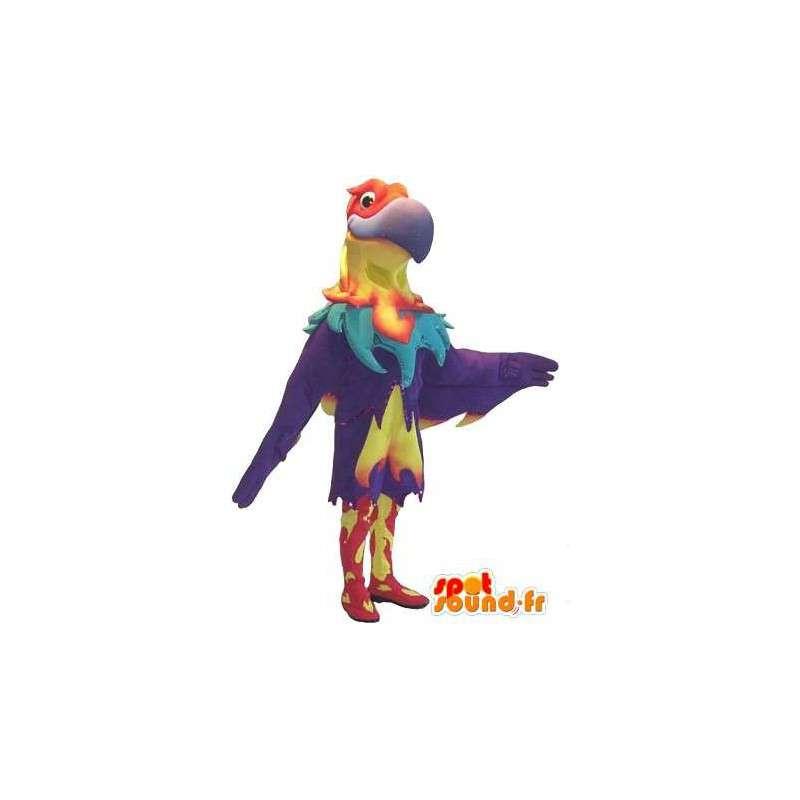 Kotka maskotti joka näyttää Phoenix, raptor puku - MASFR001749 - maskotti lintuja