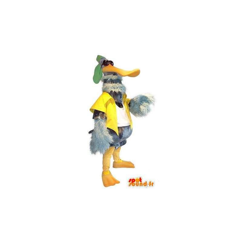 Duck maskot star utseende, and drakt - MASFR001751 - Mascot ender