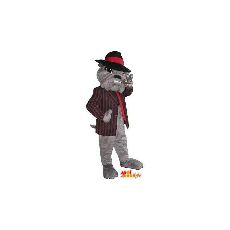 Piłka maskotka Mafiosi psów, chrzestnym przebranie - MASFR001763 - dog Maskotki