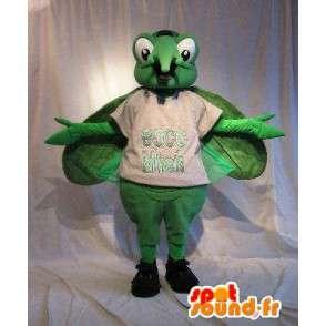 Grüne Mücke Insekt Maskottchen Kostüm - MASFR001766 - Maskottchen Insekt