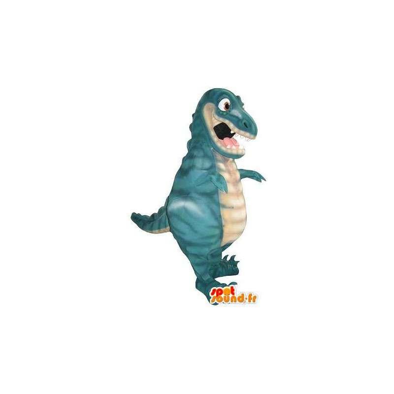 Zlý drak maskot, divoký převlek - MASFR001765 - Dragon Maskot