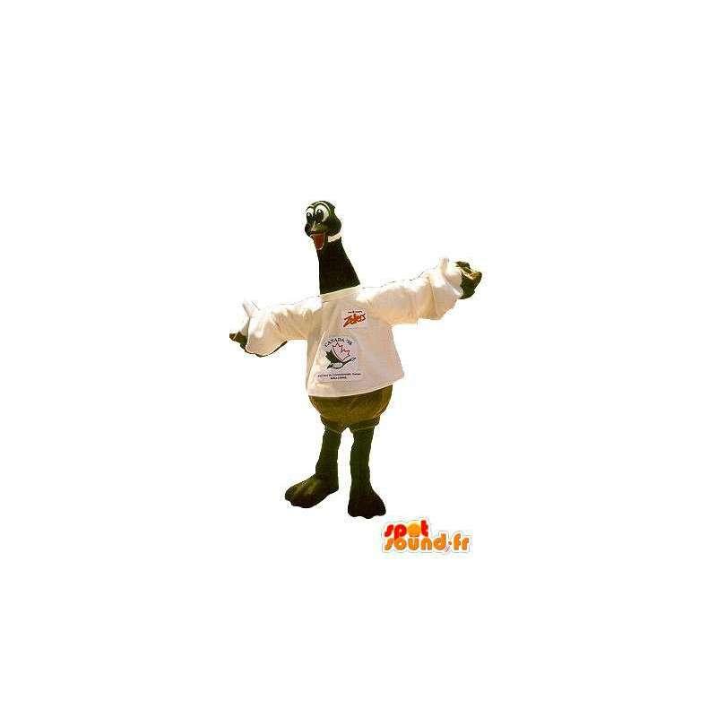 Mascotte d'oie, déguisement d'oiseau domestique - MASFR001770 - Mascotte d'oiseaux