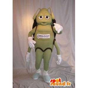 緑のアリ、アリ変装を代表するマスコット