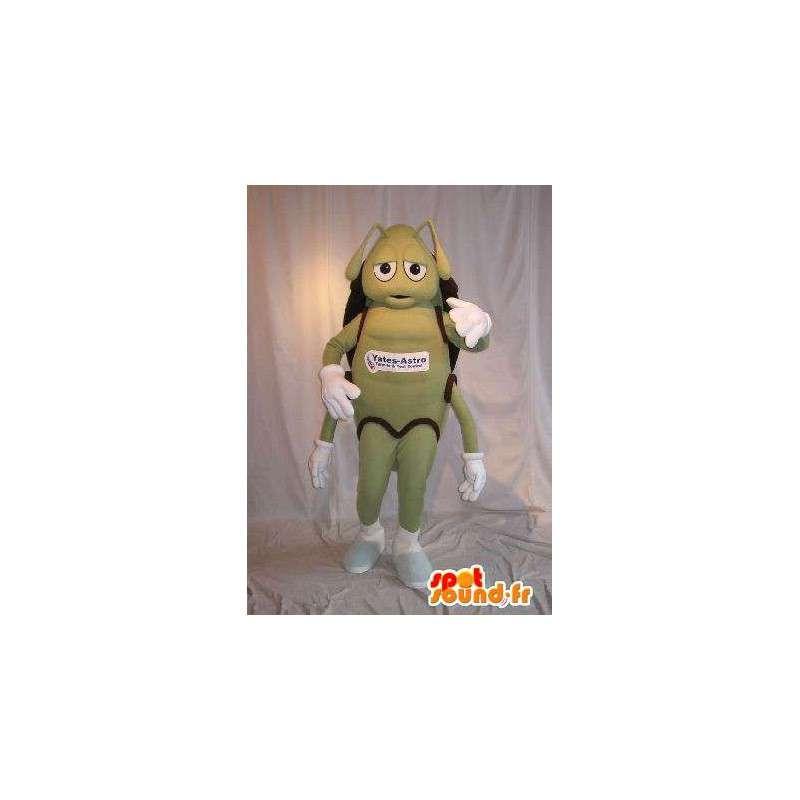 Mascot die een groene mier, verhullen - MASFR001790 - Ant Mascottes