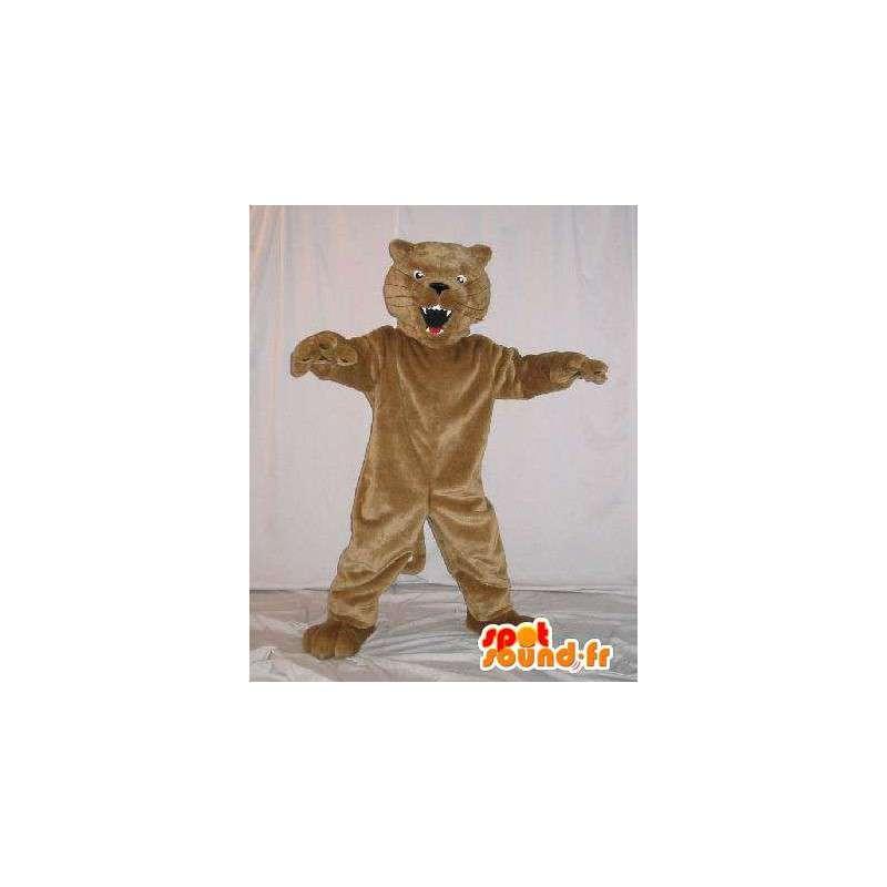 Maskot představující vycpanou kočku, kočka kostým - MASFR001794 - Cat Maskoti