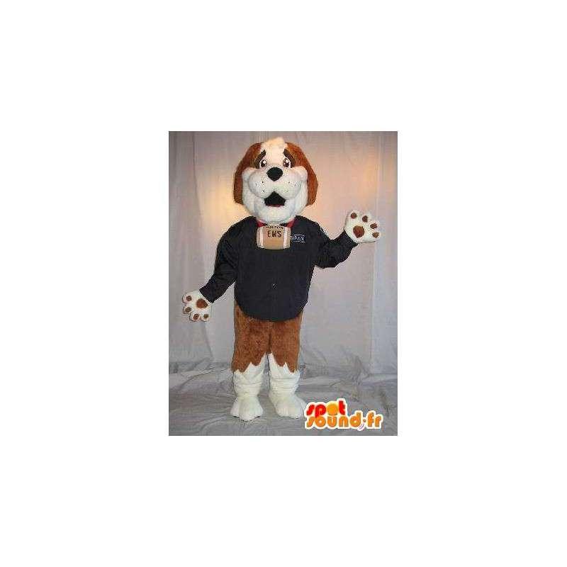 Rappresentando una mascotte San Bernardo bagnino costume - MASFR001798 - Mascotte cane