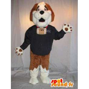 Bernhardiner-Maskottchen-Kostüm die einen Rettungsschwimmer - MASFR001798 - Hund-Maskottchen