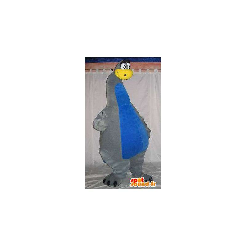 Mascotte de dinosaure au long cou, déguisement de dinosaure - MASFR001806 - Mascottes Dinosaure