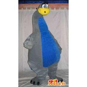 Mascot dinosauro lungo collo costume dinosauro - MASFR001806 - Dinosauro mascotte
