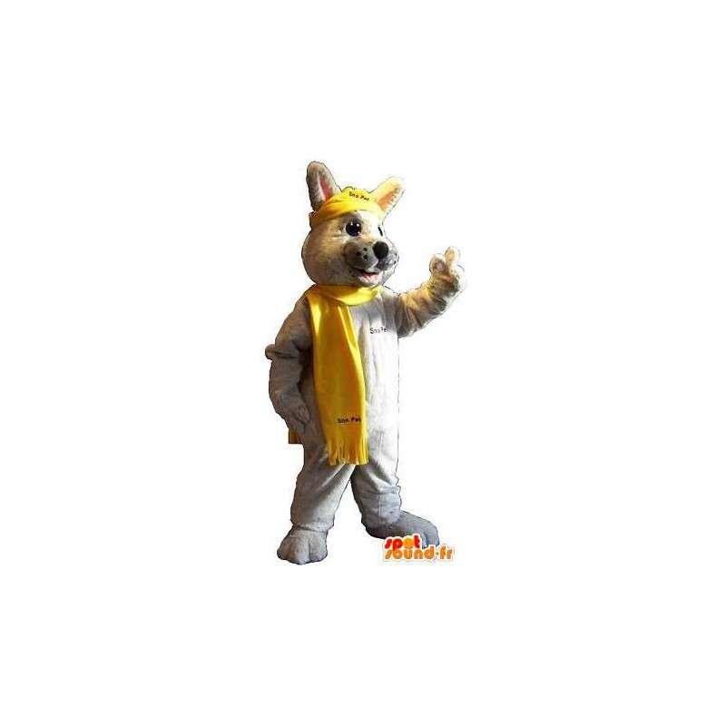 Inverno Coniglio coniglio mascotte costume - MASFR001810 - Mascotte coniglio