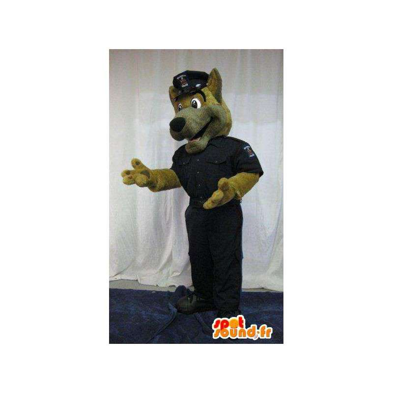 Dog mascot dressed as cop costume police - MASFR001818 - Dog mascots