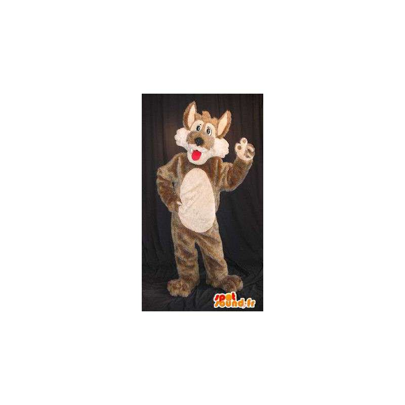Mascotte leuke wolf, wolf kostuum - MASFR001823 - Wolf Mascottes